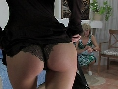 Womanly sissy humiliated and fucked