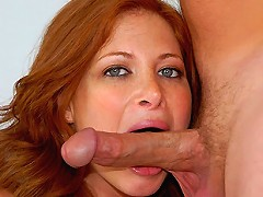 Sexy ass redhead ginger rides a hard cock after getting picked up at the bar in these hot sexy milf vids